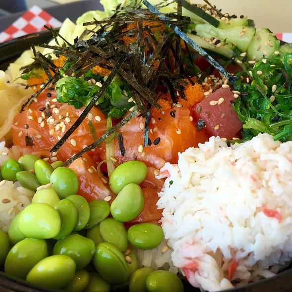 Salmon Tuna Albacore Poke