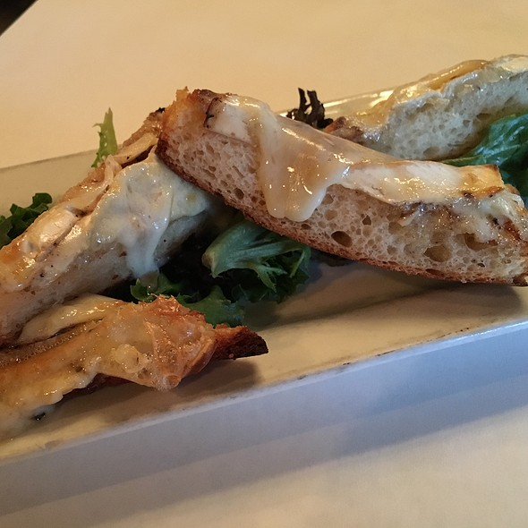 Brie And Black Garlic Baguette