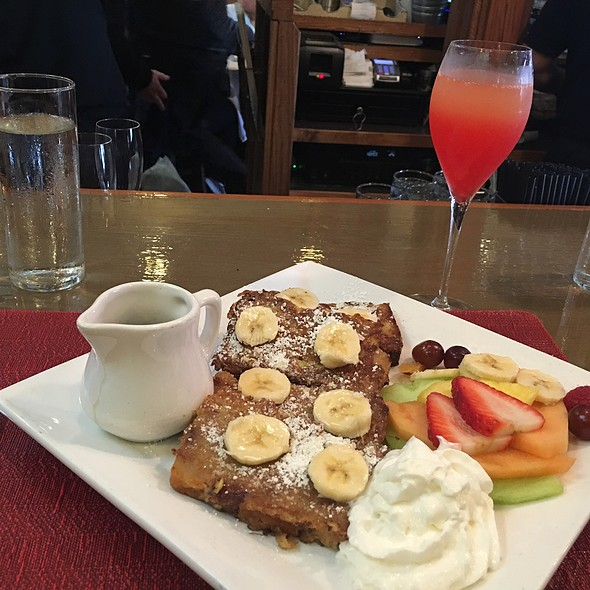 Bread Pudding French Toast @ Pastis
