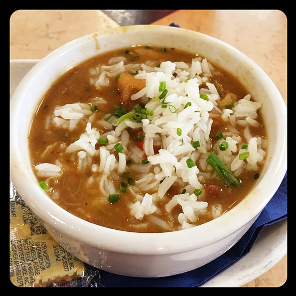 Seafood & Okra Gumbo @ Deanie's Seafood