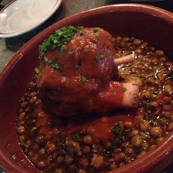 Pork, Pigeon Peas And Mofongo