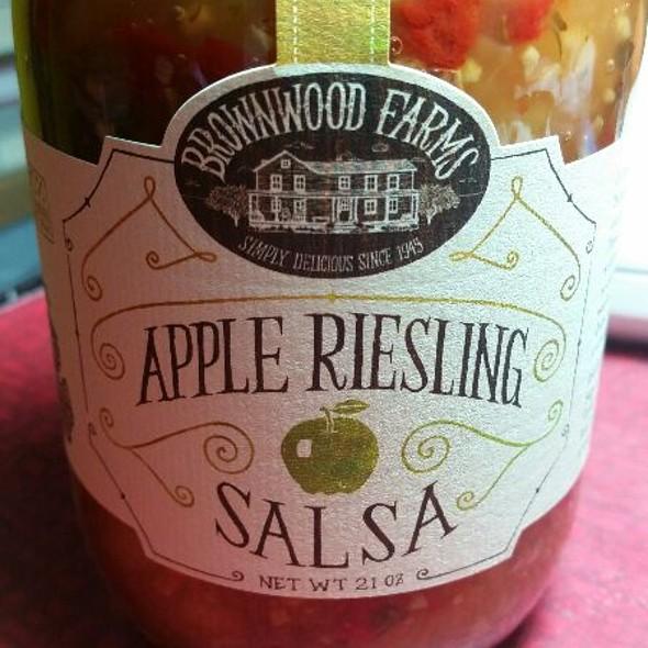 Brownwood Farms Apple Riesling Salsa @ The Fresh Market