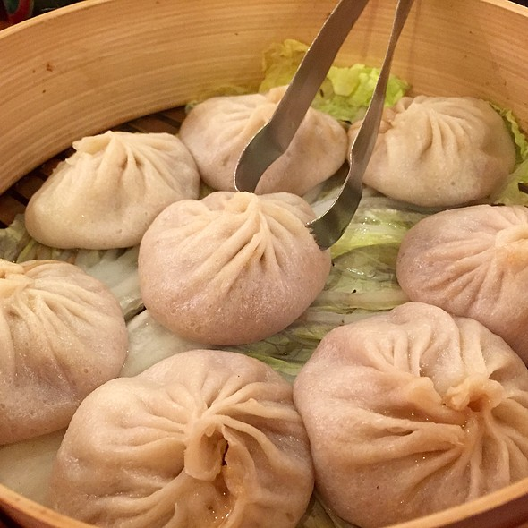 Pork Soup Dumplings @ Joe's Shanghai Restaurant