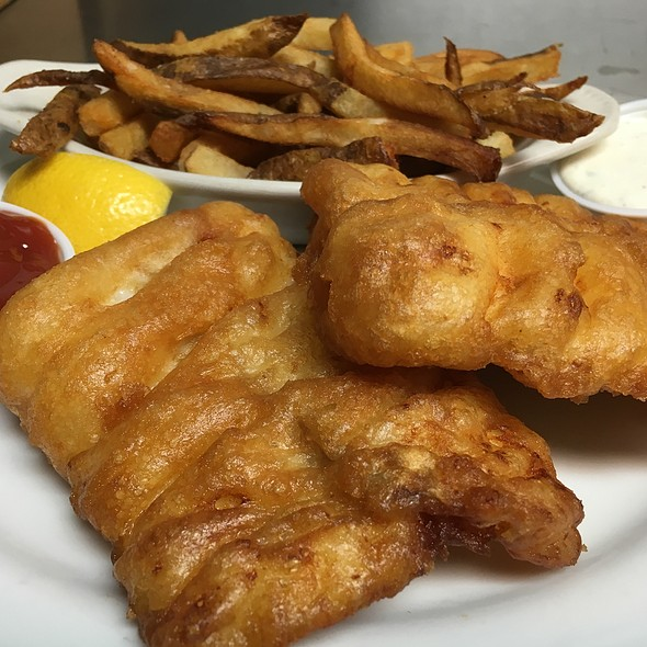 Fish and Chips - Nevin's Brewing Company, Plainfield, IL