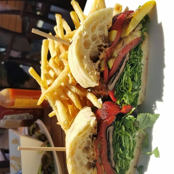 Veggie Sandwich - Oceanview Restaurant, Montrose, CA