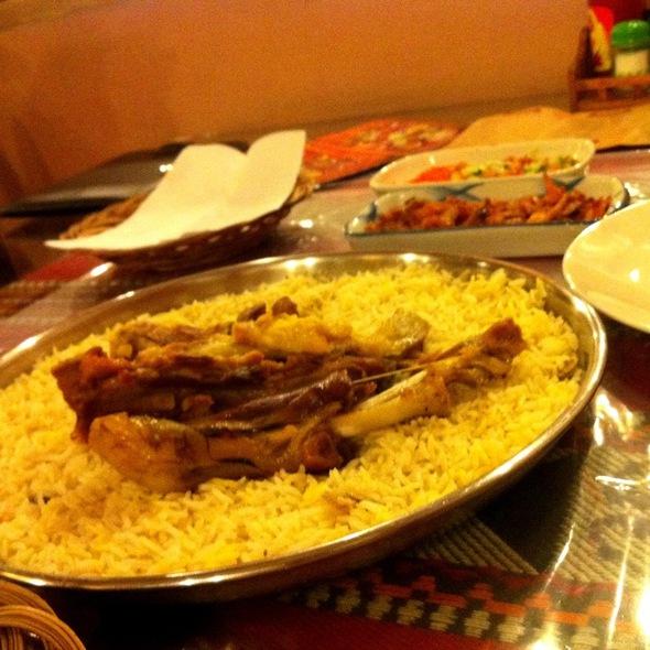Mandhi Kambing @ Hadramout Restaurant