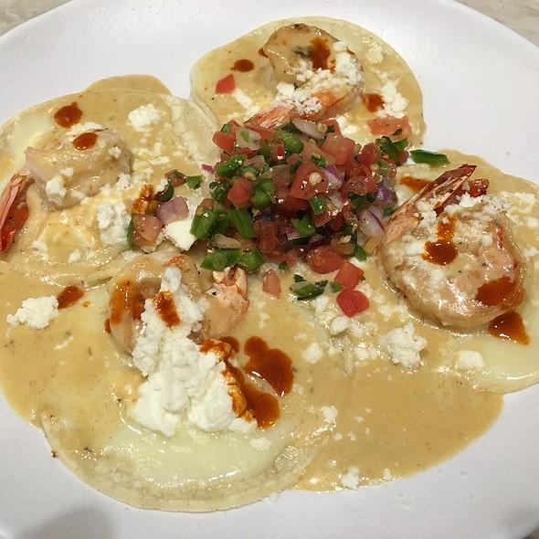 Shrimp Tacos @ Barrio Café