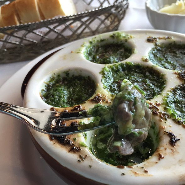 Escargots @ Cafe Provence