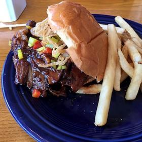 Mocha Stout Beef Brisket Sandwich
