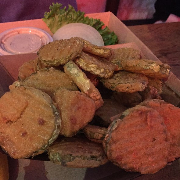 Deep Fried Pickles @ Twisted Root Burger Co