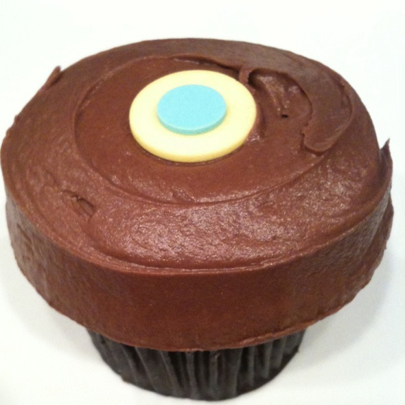 Banana Dark Chocolate Cupcake @ Sprinkles Cupcakes