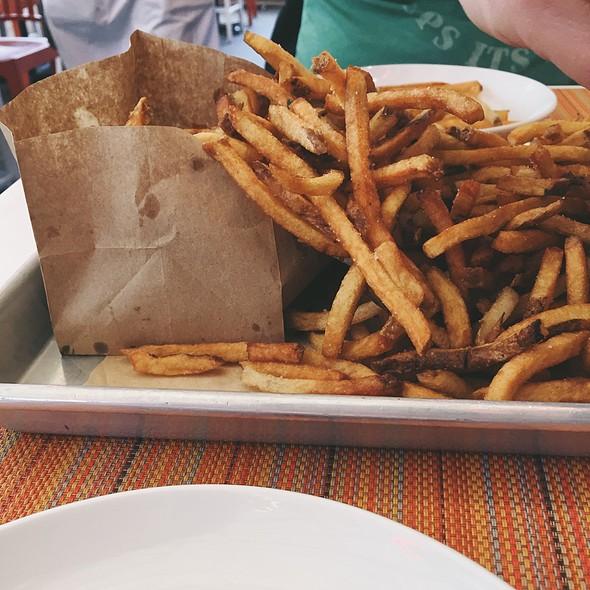 Fresh Cut Fries @ Social Kitchen & Bar