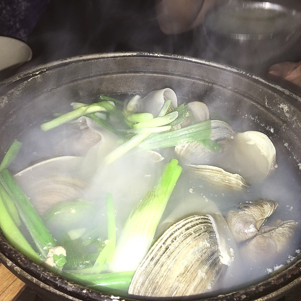 Clam Soup @ Mui Modern Pocha + Bar