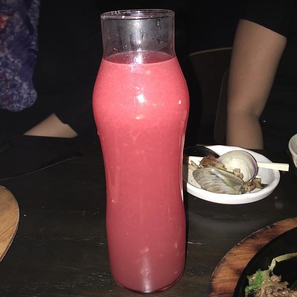 Watermelon Soju @ Mui Modern Pocha + Bar