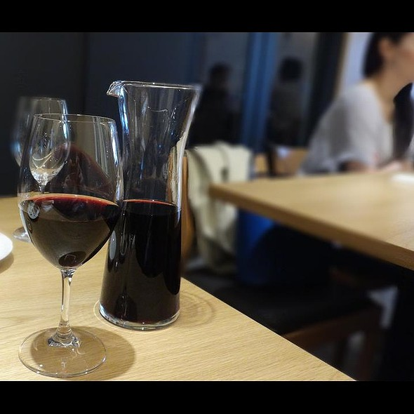 House Red Wine @ Cucina Italiana d'Ore Kagurazaka