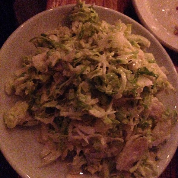 Brussell Sprout Salad