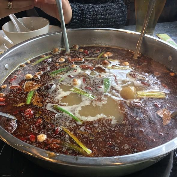 Spicy Broth Hotpot @ Little Sheep Mongolian Hot Pot