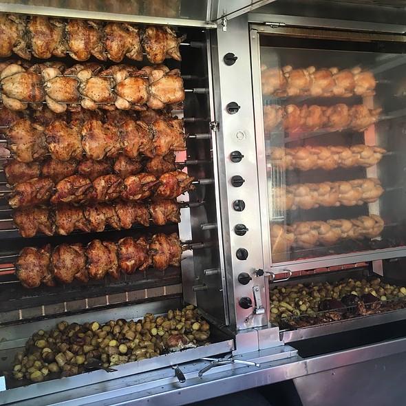 Rotisserie Chicken And Rosemary Potatoes @ Roli Roti Truck