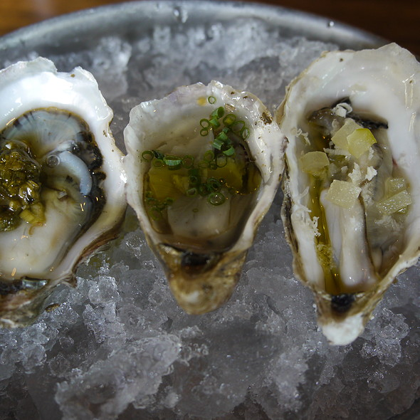 Assorted Raw Oysters - Anchovies & Olives, Seattle, WA