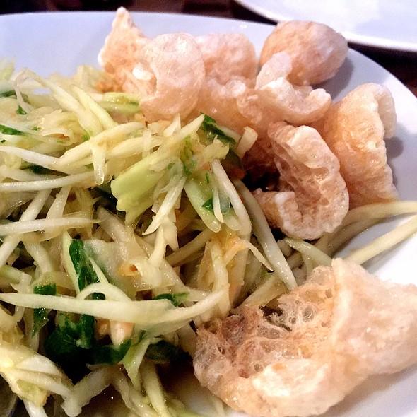 Green Papaya Salad @ Birdseye Kitchen
