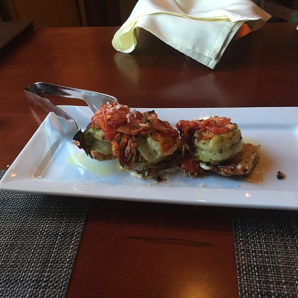 Basil Shrimp Bruschetta - Angelo's Tavolo at Glen Sanders Mansion, Scotia, NY