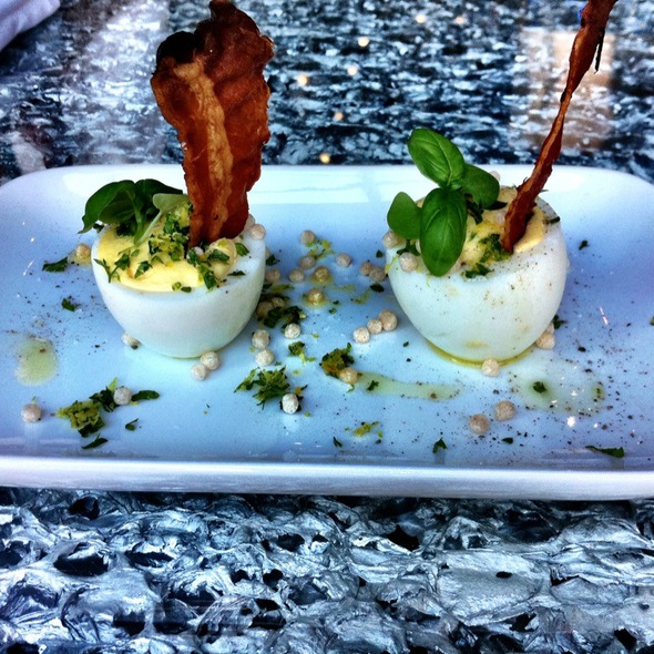 Deviled Eggs @ Origin Restaurant