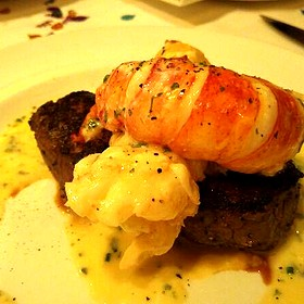 Seared Tenderloin With Butter Poached Lobster - The Capital Grille - Houston, Houston, TX