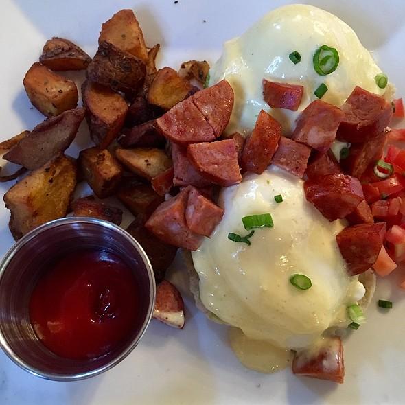 Chorizo Eggs Benedict - Masa - Boston, Boston, MA
