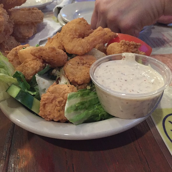 Shrimp remoulade Salad @ Joey K's Restaurant & Bar