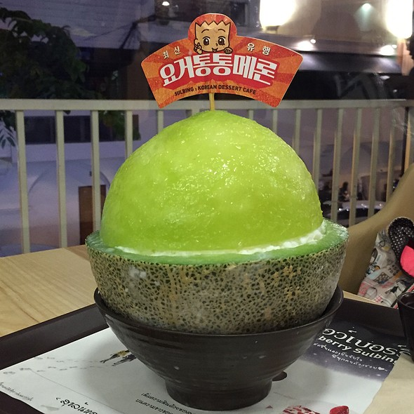 Yogurt Tong Tong Melon @ Korean Dessert Cafe Sulbing