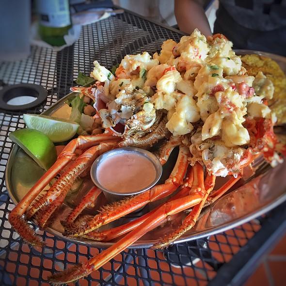 Seafood Stuffed Lobster @ La Parrilla Restaurant