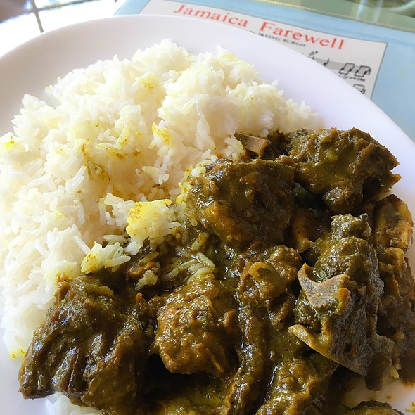 Curried Goat Stew @ The heart of my home