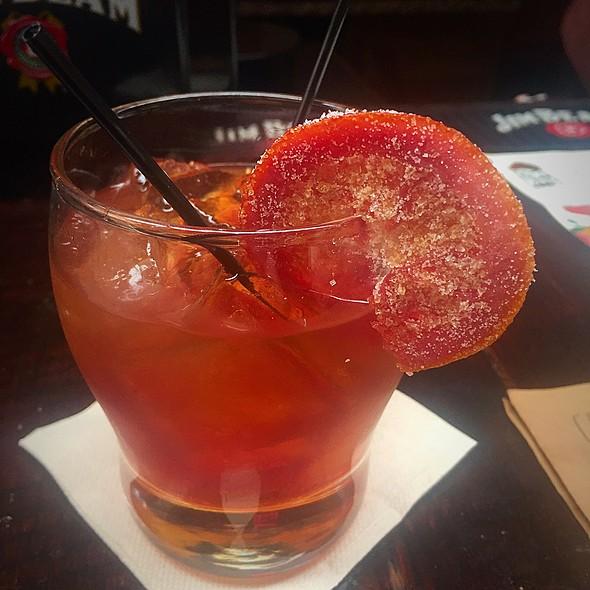 Ohld Fashound Cocktail @ Red Dog Diner