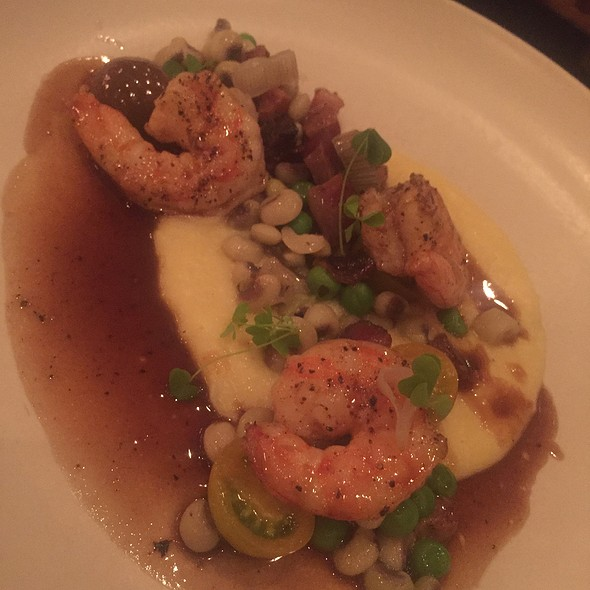 Shrimp And Corn Pudding @ Coquette
