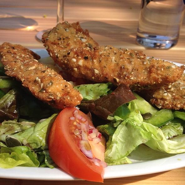 Backhendl Salat @ Gaststätte Pistauer