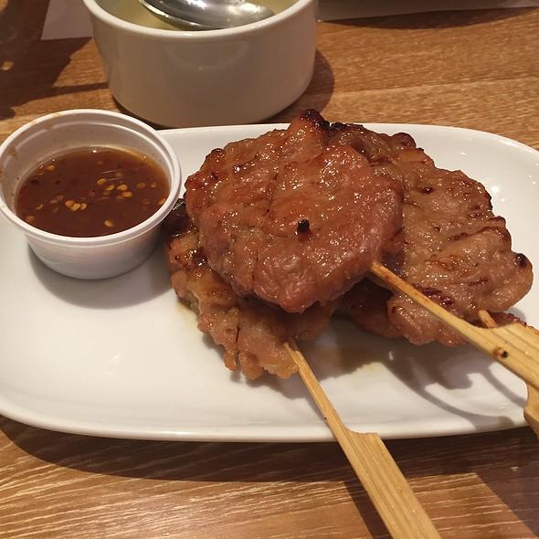 Pork Skewers @ Eathai @ Central Embassy
