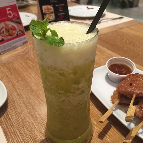 Cucumber, Lime, Mint Juice @ Eathai @ Central Embassy