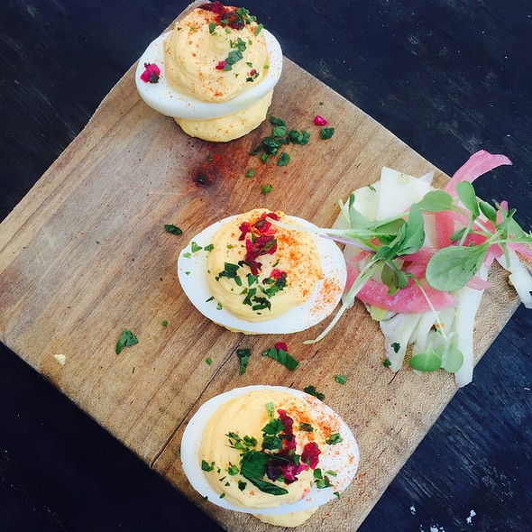 Deviled Eggs @ Farmstead at Long Meadow Ranch