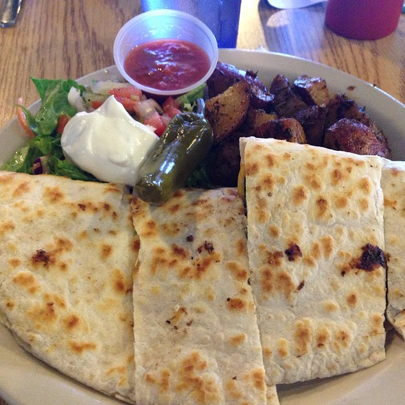 Steak Quesadilla @ Cafe Brazil Addison