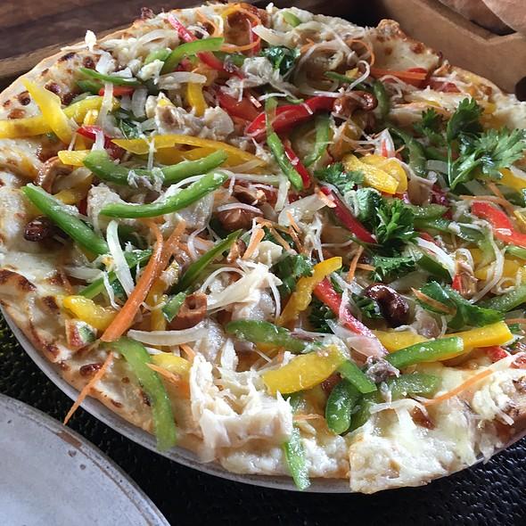 Smoked Fish Pizza @ Phum Baitang Resort