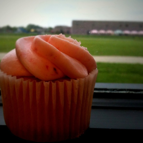 Strawberry Cupcake @ Jr. Roller Derby After Party