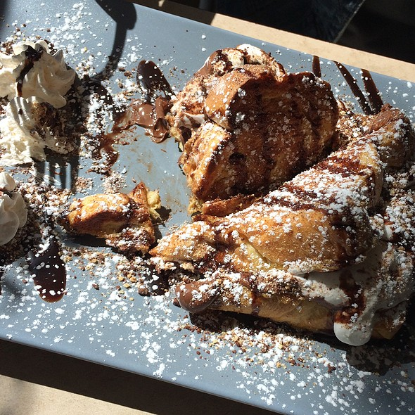 S'mores French Toast @ Gepetto Cafe
