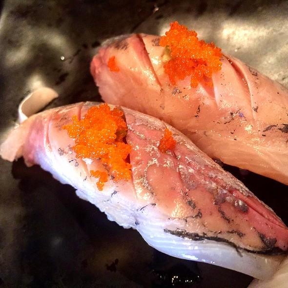 Aji Nigiri @ Sushi Brothers