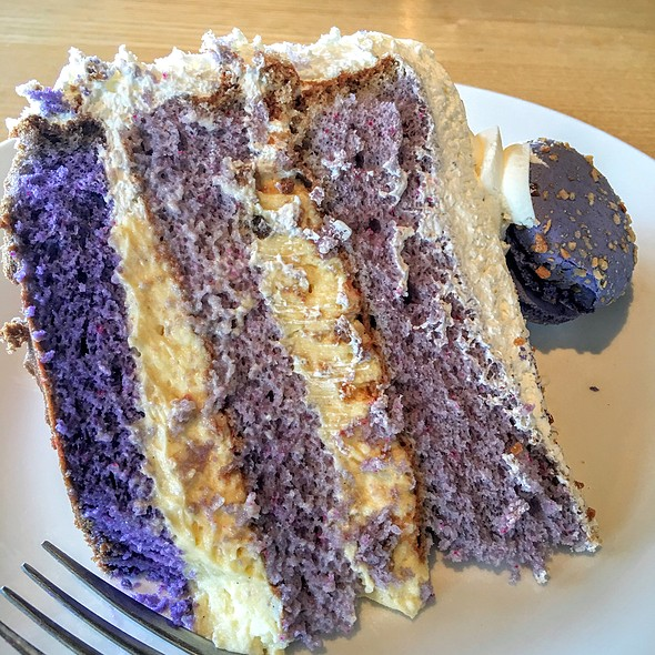 Ube Coconut Cake @ Bakers And Baristas