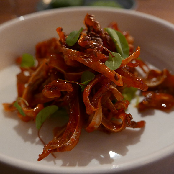 Fried Pigs Ears @ Oro