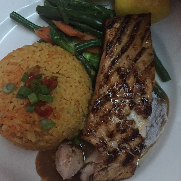 Grilled Salmon - Bourbon Street, Bayside, NY