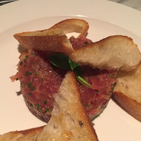 Tuna Tartar On Bread  @ Luke's Oyster Bar & Chop House