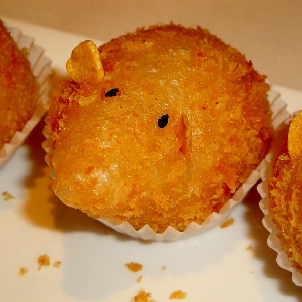 Fried Berkshire Pork Dumplings @ Lai Wah Heen