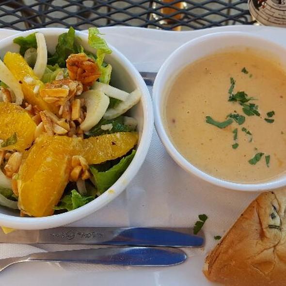 Citrus Salad And Lobster Bisque