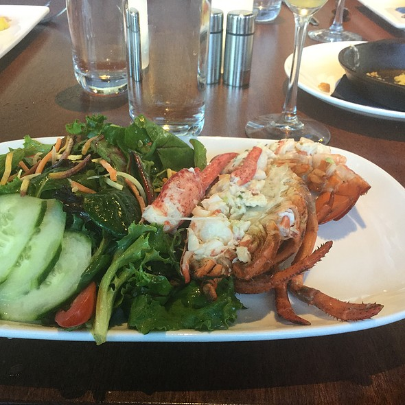 Stuffed Lobster Salad @ River House